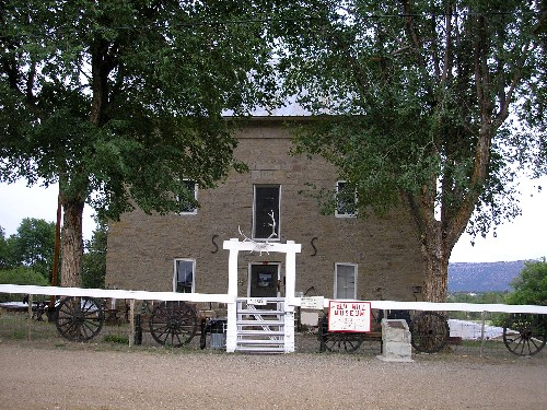 The Aztec Mill Museum